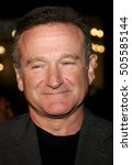 Small photo of Robin Williams at the Los Angeles premiere of 'Man of the Year' held at the Grauman's Chinese Theater in Hollywood, USA on October 4, 2006.