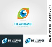 vision eye logo template emblem | Shutterstock .eps vector #505598974