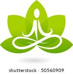 Yoga Lotus Icon