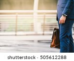 closeup of a businessman... | Shutterstock . vector #505612288