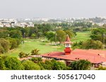 karnataka golf association golf ... | Shutterstock . vector #505617040