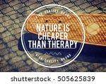 relax attitude inspiration...   Shutterstock . vector #505625839