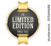 Black Limited Edition Badge ...