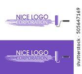 repair the paintbrush icon....   Shutterstock .eps vector #505647169