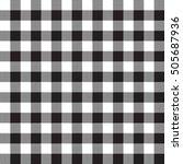 Black White Checkerboard Check...