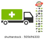 service car pictograph with... | Shutterstock .eps vector #505696333