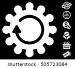 cog rotation icon with free... | Shutterstock .eps vector #505723084