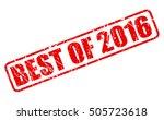best of 2016 warranty red stamp ...   Shutterstock .eps vector #505723618