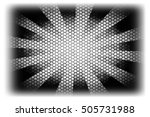 abstraction on a black... | Shutterstock . vector #505731988