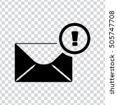 mail notify icon | Shutterstock .eps vector #505747708