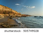 Beach Landscape With Sea And...