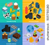 commodity concept icons set... | Shutterstock .eps vector #505750180