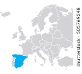 eu europa vector | Shutterstock .eps vector #505769248