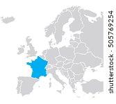 eu europa vector | Shutterstock .eps vector #505769254