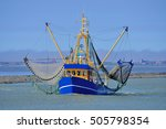 Crab Fishing Trawler In East...