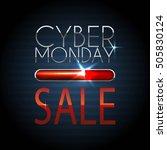 sale technology banner for... | Shutterstock .eps vector #505830124