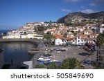 madeira  portugal   july 17 ... | Shutterstock . vector #505849690