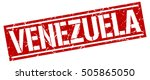 venezuela. grunge vintage... | Shutterstock .eps vector #505865050