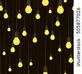 vector seamless pattern of... | Shutterstock .eps vector #505877026