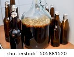 Bottles And Carboys Of Home...