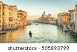Venice  Italy. Sunset View Of...