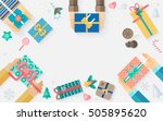 stock vector illustration of... | Shutterstock .eps vector #505895620