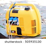 portable generator power camping | Shutterstock . vector #505935130