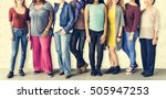 girls friendship togetherness... | Shutterstock . vector #505947253