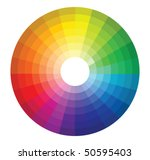 color wheel | Shutterstock .eps vector #50595403