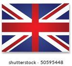 flag of the united kingdom | Shutterstock .eps vector #50595448