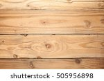 old wood table for background... | Shutterstock . vector #505956898