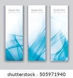 abstract header vertical blue... | Shutterstock .eps vector #505971940