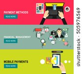 online payment.project...   Shutterstock .eps vector #505976569