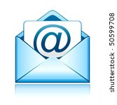 e mail vector icon | Shutterstock .eps vector #50599708