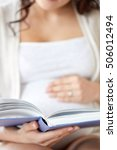 pregnancy  people and...   Shutterstock . vector #506012494