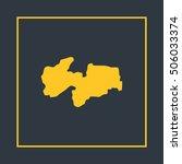 map of paraiba vector...   Shutterstock .eps vector #506033374