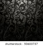 seamless wallpaper pattern ... | Shutterstock .eps vector #50603737