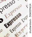 expresso image   Shutterstock . vector #506039614