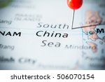 south china sea. | Shutterstock . vector #506070154