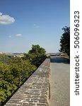 prague cityscape in late...   Shutterstock . vector #506096323