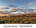 Autumn Sunset At Santa Rosa...