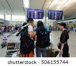 saigon  vietnam   oct 2  2016.... | Shutterstock . vector #506155744