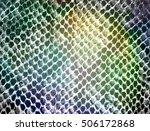 Snake Skin Fabric Pattern...