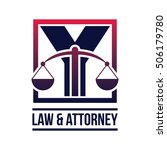 law logo  alphabet logo in law