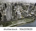 aerial view of panama city ... | Shutterstock . vector #506205820
