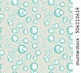seamless pattern with soap... | Shutterstock .eps vector #506213614