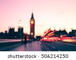 motion blur at rush hour in... | Shutterstock . vector #506214250