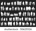 illustration of happy children | Shutterstock .eps vector #50625526