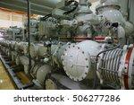 under installation of indoor... | Shutterstock . vector #506277286