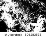 grunge black and white distress ... | Shutterstock . vector #506283538